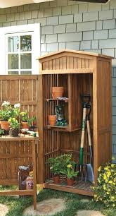 storage for lawn mower door storage best small sheds ideas on