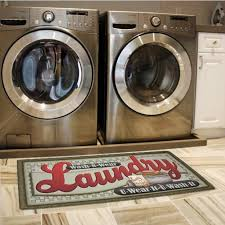 Washing Bathroom Rugs Personalized Laundry Room Rugs Ideas You Wear It You Wash It
