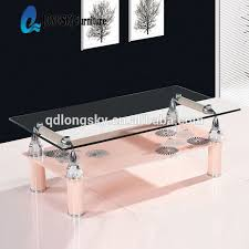 Glass Table Ls Ls 1097 New Design Glass Teapoy Tea Poi Cheap Price Coffee Table