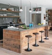 ilot centrale cuisine cuisine rustique 23 idées inspirations photos