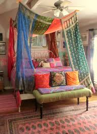 Vintage Canopy Bed Babylon Vintage Sari Bed Canopy