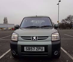 peugeot partner 2008 peugeot partner 2008 1 6 hdi diesel wheelchair access car in