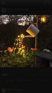 Nature Power Hanging Solar Shed Light by Watering Can