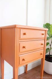 sewing cabinet to bedside table makeover southern revivals