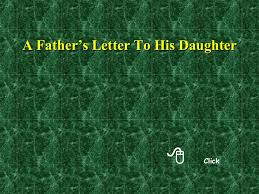 a father u0027s letter to his daughter