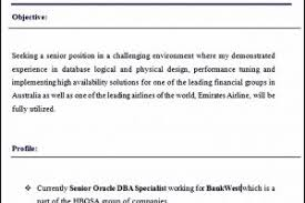 Sample Dba Resume by Senior Oracle Dba Resume Examples Download Oracle Dba Resume