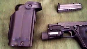 duty holsters with light sig sauer p229 elite duty holster youtube