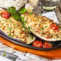 comment cuisiner des aubergines facilement oven roasted and delicious this stuffed eggplant is the