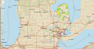 Midland Michigan Map by Power Slowly Being Restored To Thousands In Southeast Michigan