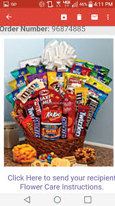 miami gifts delivered by gifttree 1 from you flowers sweet snack gift basket gift basket review