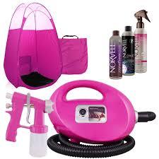 Mediterranean Spray Tan Solution Pink Fascination Fx Spray Tan Kit With Tanning Solutions U0026 Pink