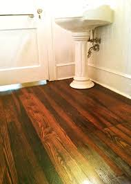 Laminate Flooring Without Beading What U0027s The Best Finish For Wood Floors In An Old House