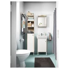 ikea bathrooms designs tyngen mirror with shelf white ash effect 40x12x50 cm ikea