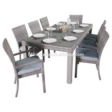 Wicker Dining Chairs Indoor Poly Rattan Furniture Poly Rattan Furniture Suppliers And