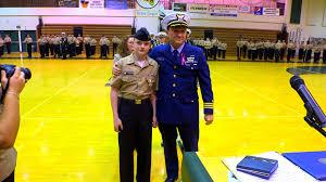 jrotc cadet saves a life and receives an award youtube