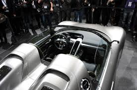 porsche concept interior new porsche 918 spyder sports plug in hybrid concept revealed in