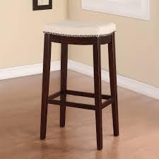 Linon Home Decor Bar Stools Linon Hampton Fabric Top Bar Stool Beige 31 Inch Seat Height