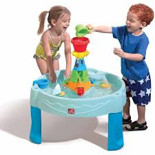 step2 waterwheel play table step2 water works play table includes 2 cups and 2 sailboats
