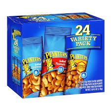amazon com planters nut 24 count variety pack 2 lb 8 5 ounce