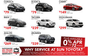 black friday lease deals black friday deals at sun toyota