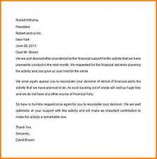 financial aid appeal letter financial aid appeal letter sample