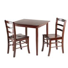 chairs for dining room amazon com winsome groveland square dining table with 2 chairs