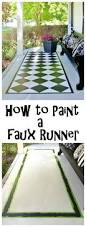 Faux Painted Floors - faux painted floor runner floor runners thistlewood farms and