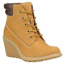 womens timberland boots australia timberland s amston 6 inch wedge heels boots 8251a wheat all