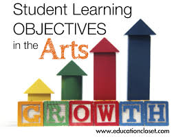 student learning objectives in the arts education closet
