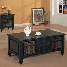 black coffee table with storage the coffee tables with storage baskets dark espresso pertaining to