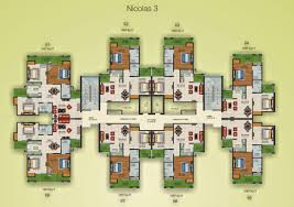 supertech projects villas apartments offices plots czar suites czar suites floor plans cluster plan nicolas 3