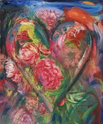 The Month Of June Flower - jonathan novak contemporary art blog jim dine heart paintings
