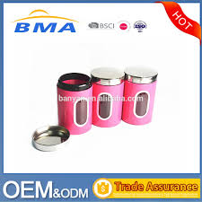 pink kitchen canister set list manufacturers of set of 3 pcs jar buy set of 3 pcs jar get