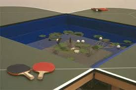 Cool And Unusual Table Tennis Table Designs From Around The - Designer ping pong table