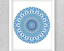 printable art medallion art medallion wall art mandala art