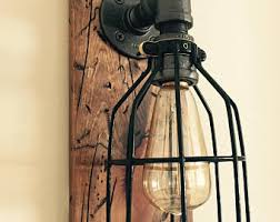 Industrial Wall Sconce Lighting Minimal Industrial Wall Sconce Lighting Black Minimalist Wall