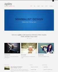 40 great responsive html website templates pertaining to html