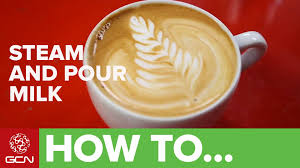 how to make designs on coffee how to make a great cappuccino steam and pour milk for coffee