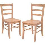 amazon com wood chairs kitchen u0026 dining room furniture home