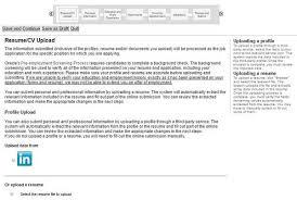 resume uploader oracle career guide u2013 oracle application job application review