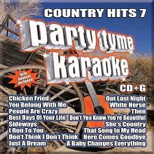 Party Tyme Karaoke Christmas Pack - country hits 7 party tyme karaoke