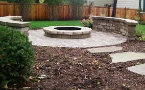 Unilock Fire Pit by Brick Paver Installation By Forever Hardscapes