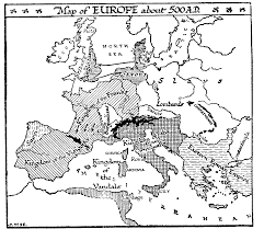 Blank Map Of Western Europe by 32 2 The Feudal System U2014 The Outline Of History By H G Wells