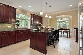 kitchen island cherry wood
