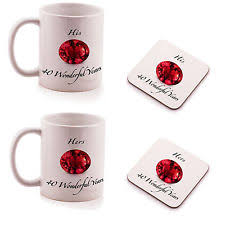 His And Hers Mug His And Hers Gifts Home Furniture U0026 Diy Ebay