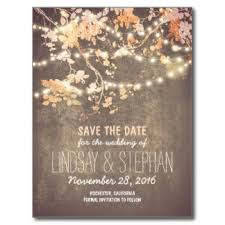 inexpensive save the date cards string lights rustic save the date postcards wedding