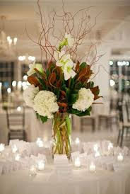 White Hydrangea Centerpiece by Best 20 Curly Willow Centerpieces Ideas On Pinterest Curly