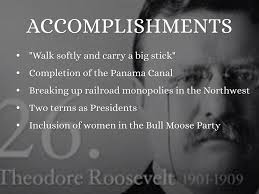 Accomplishments Antonym Progressive Presidents By Andersona11
