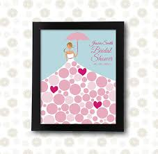 bridal shower guestbook bridal shower guest book wedding umbrella printable pdf