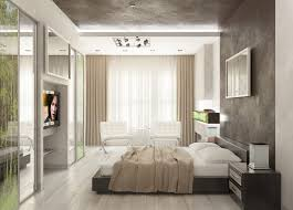 Tv Wall Mount Ideas by Apartment Contemporary Apartment Bedroom Interior Modern